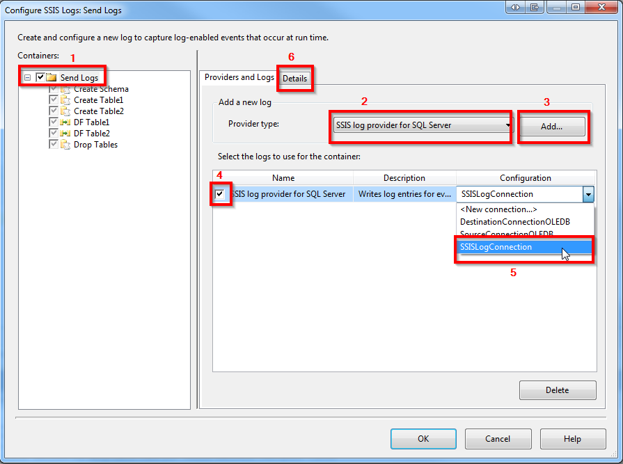 How to send SSIS logs (errors) through email