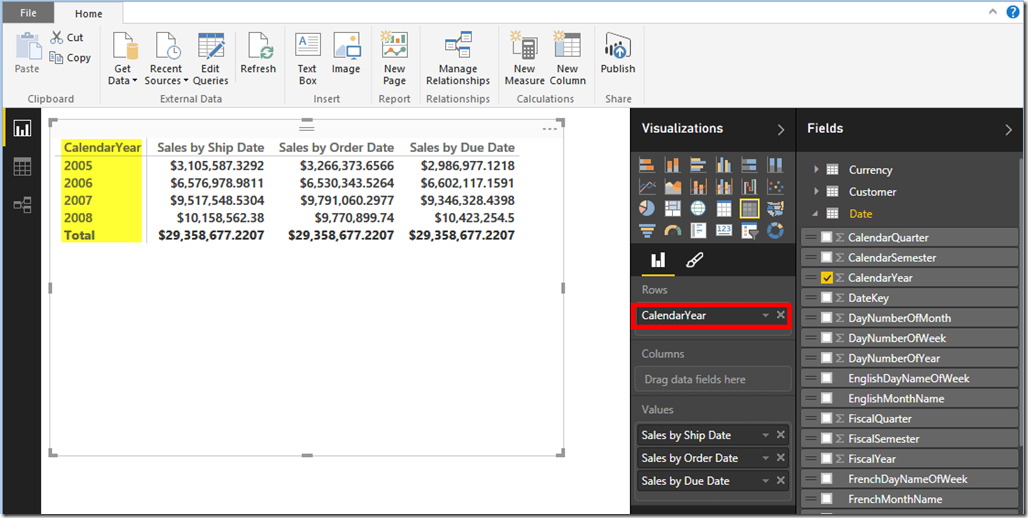 Role-Playing Dimensions In Power BI 07