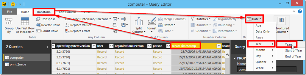 Power BI and Active Directory 12
