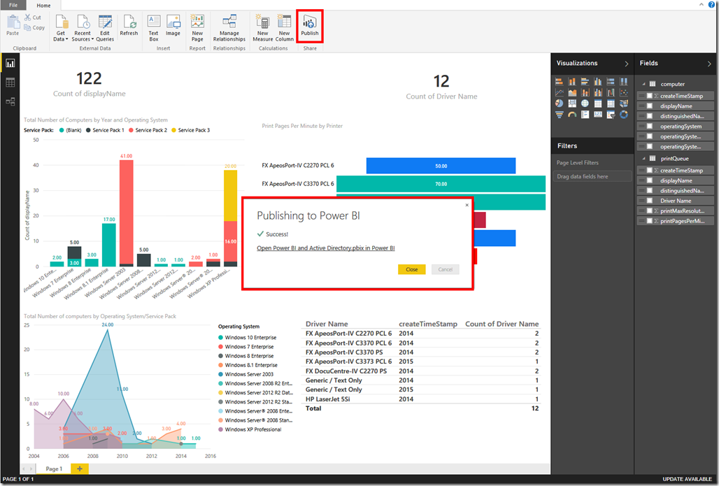 Power BI and Active Directory 28