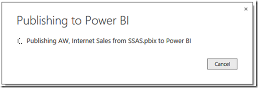 Power BI and SSAS Multidimensional 06