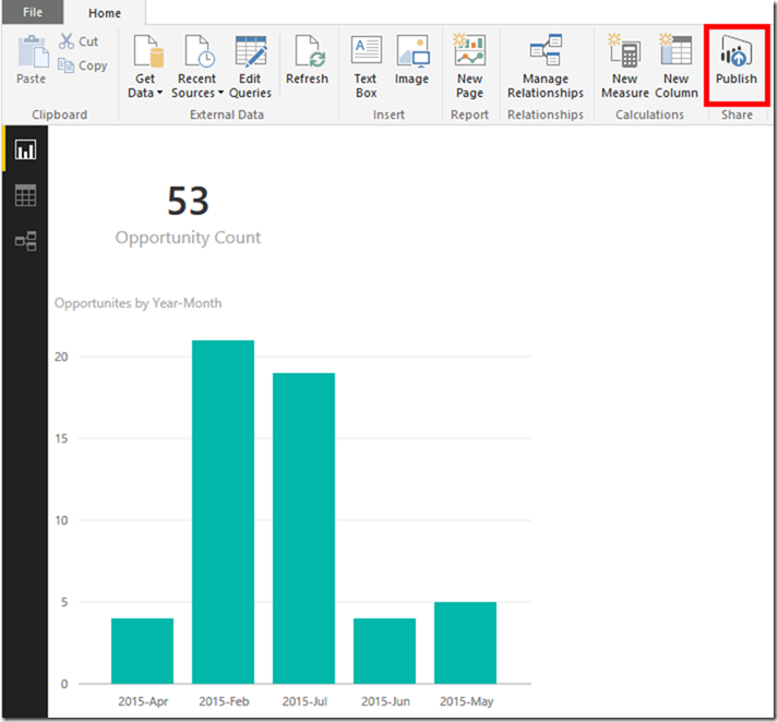 Dynamics CRM and Power BI 7
