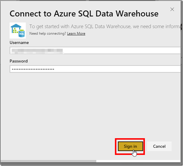 Azure SQL Data Warehouse and Power BI 02