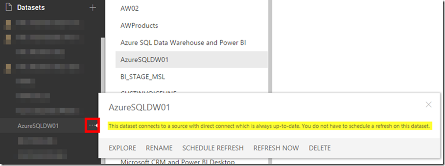 Azure SQL Data Warehouse and Power BI 05