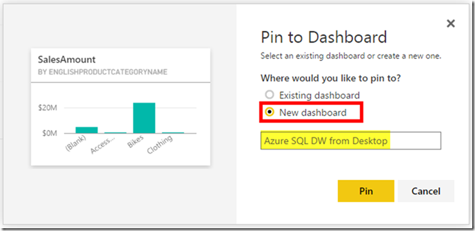 Azure SQL Data Warehouse and Power BI 17