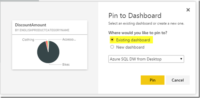 Azure SQL Data Warehouse and Power BI 20