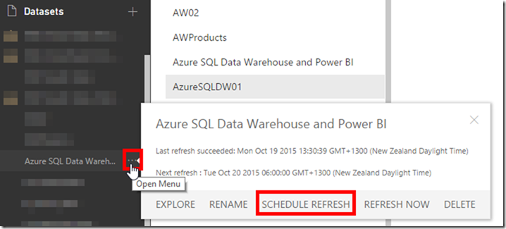 Azure SQL Data Warehouse and Power BI 13