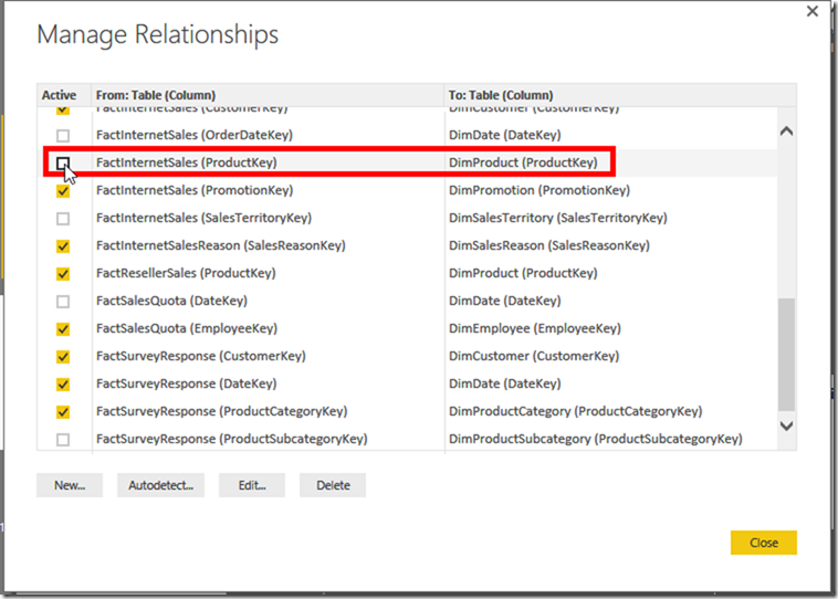 Power BI Desktop Edit Relationships 02
