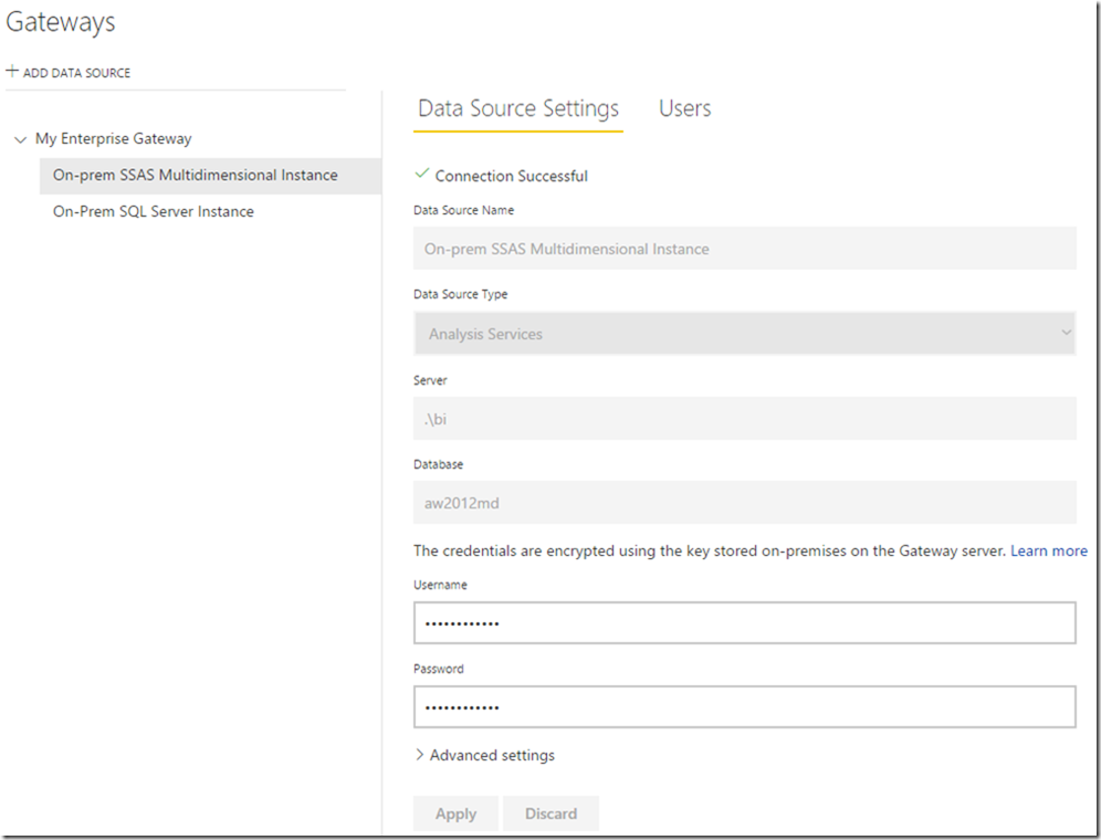 Managing Power BI Enterprise Gateways 05