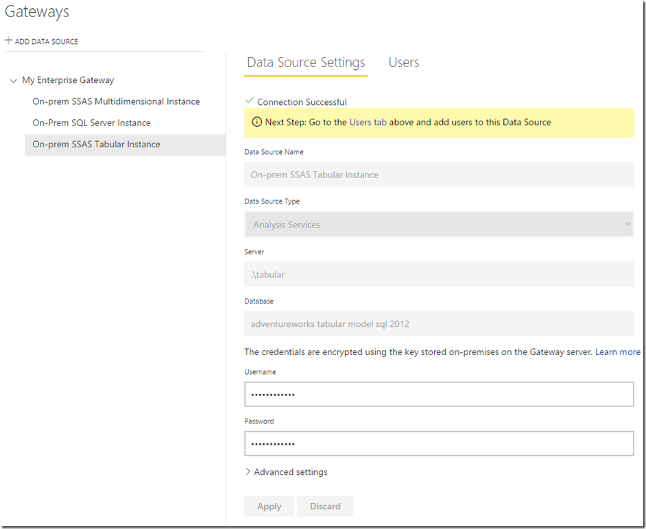 Managing Power BI Enterprise Gateways 06