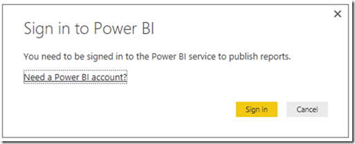 Power BI Publish Reports