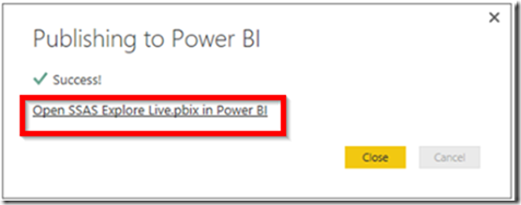 Power BI Publish Reports 01