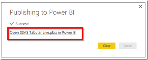 Power BI Publish Reports 02