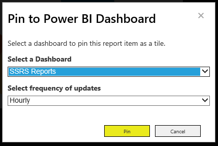 SSRS 2016 and Power BI
