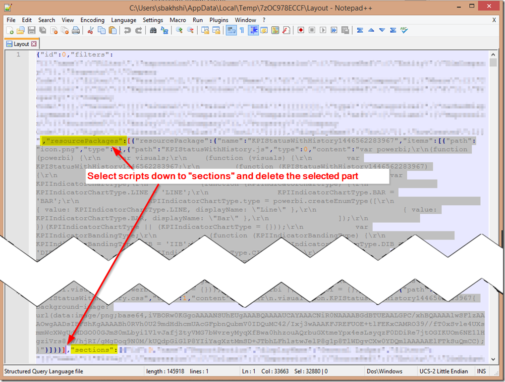 Modifying Layout Scripts