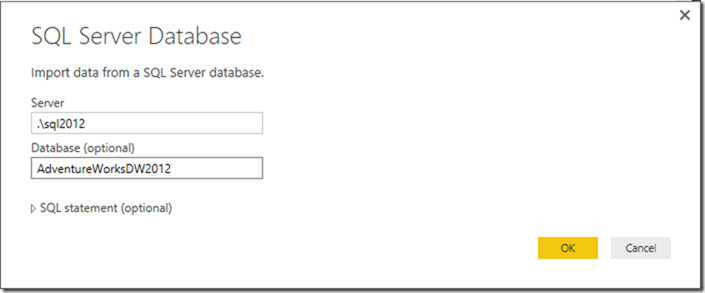 Power BI get data from SQL Server 01