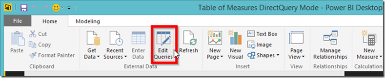 Power BI Edit Queries 02