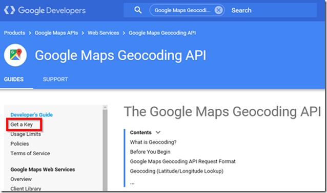 Google Maps Geocoding API