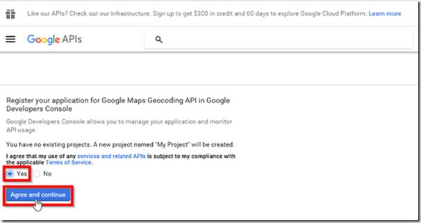 Get Google Maps API Key 2