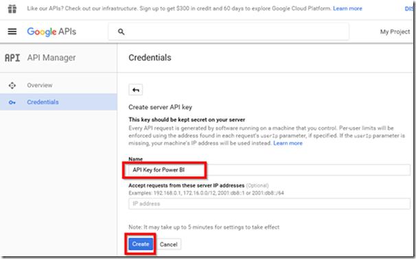 Get Google Maps API Key 3