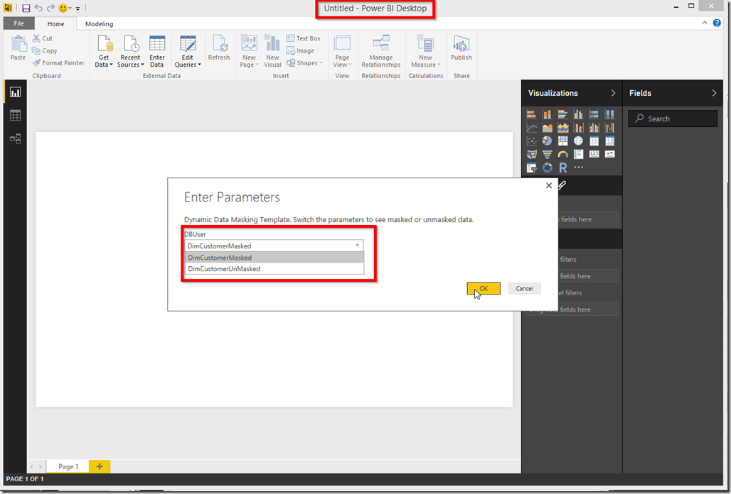 Power BI Desktop Import Template