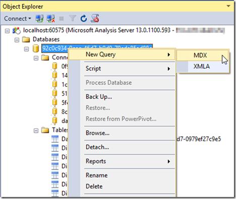 Querying Power BI Desktop Model with DAX