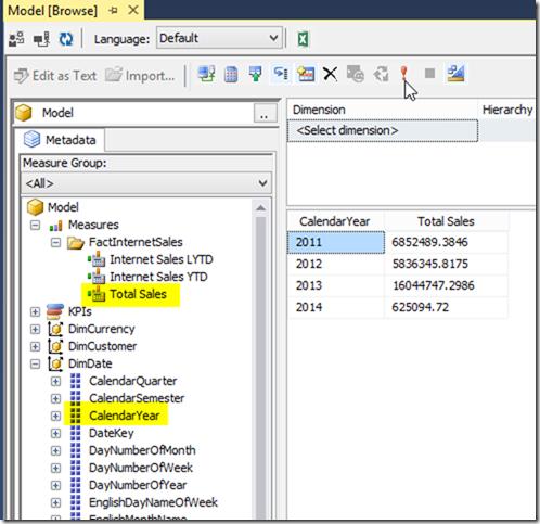 Browsing Power BI Desktop Model from SSMS