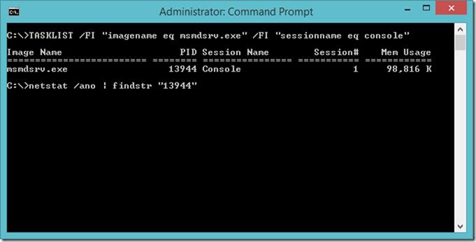 Finding Power BI Desktop local port using Windows Command Prompt (CMD)