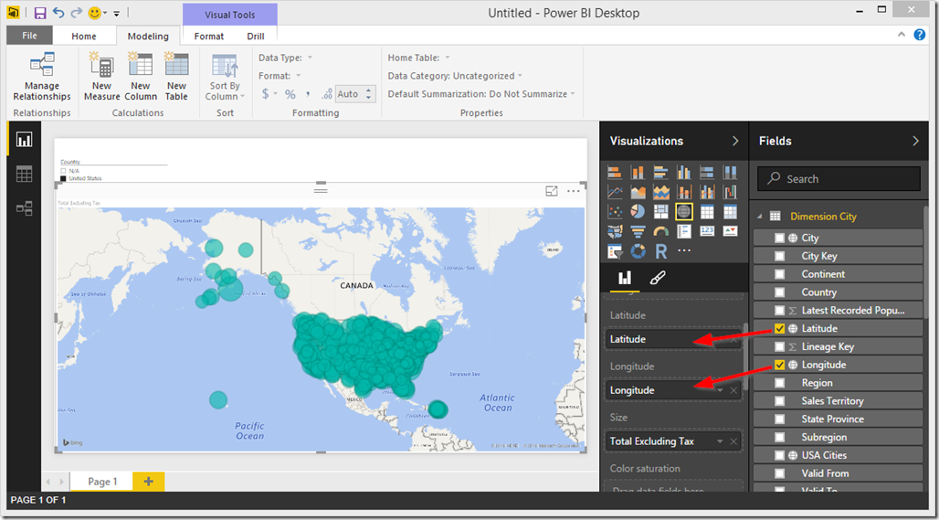Overcome Map Related Issues in Power BI, Power View and