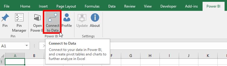 Analyse Power BI Data in Excel