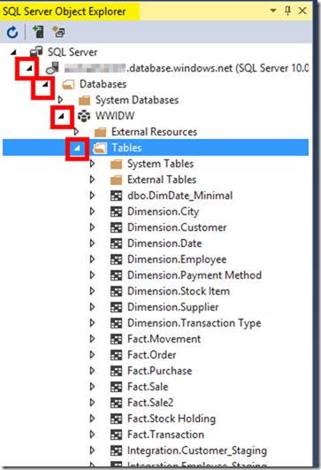 SQL Server Object Explorer Visual Studio