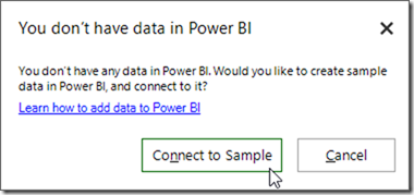Create Sample Data in Power BI From Excel