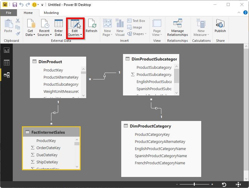 Power BI Desktop Query Parameters, Part 3, List Output