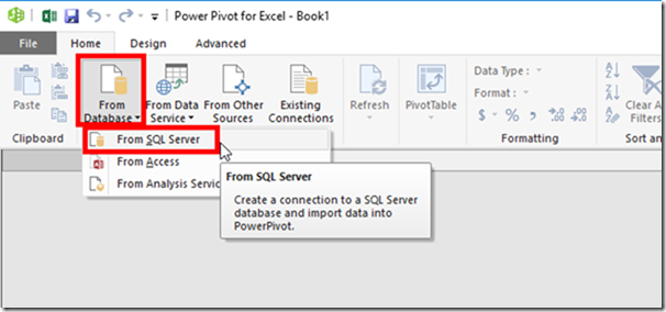 Power Pivot Get External Data From