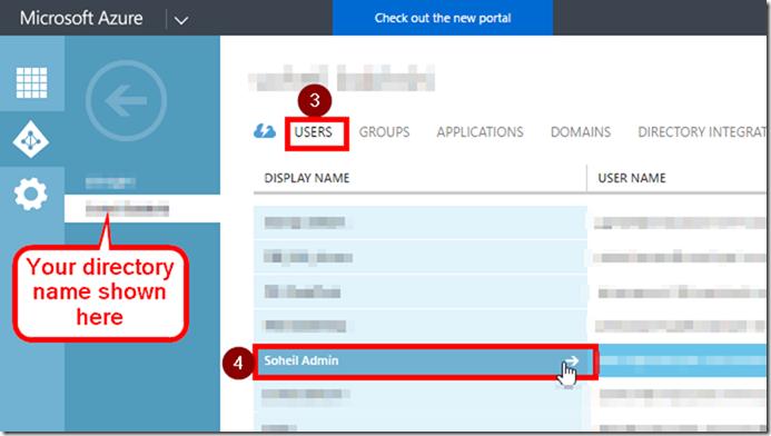 Office 365 Admin Centre Azure AD User Settings