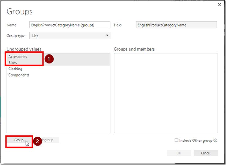 Create Groups in Power BI Desktop