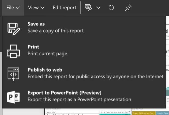 Download Report Disabled in Power BI Service