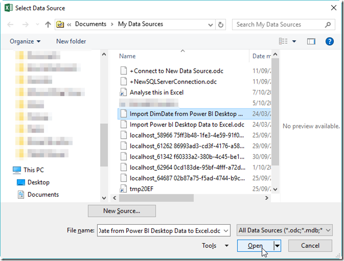 preview:Exporting Data from Power BI Desktop to Excel and