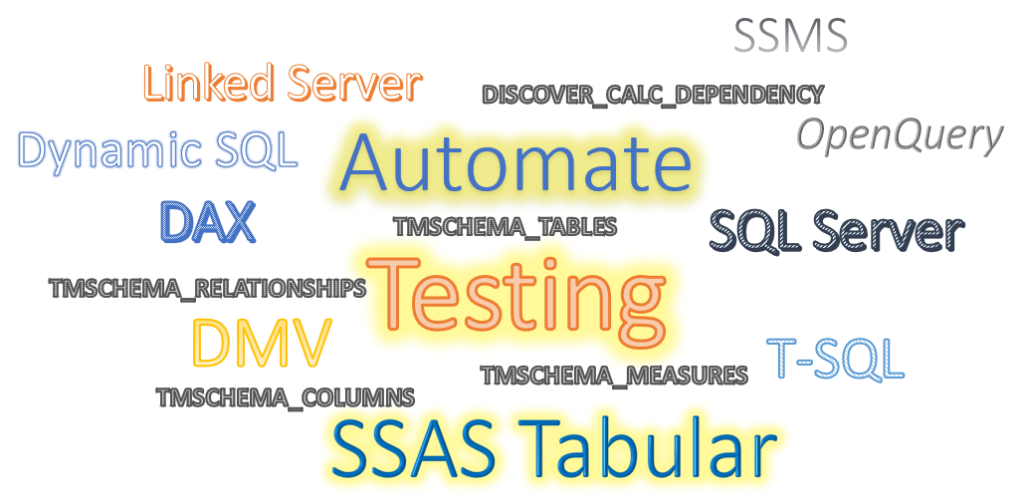 Automate Testing SSAS Tabular