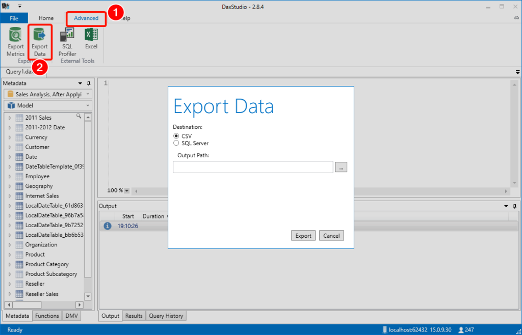 Quick Tips: Export Power BI Desktop and Power BI Service